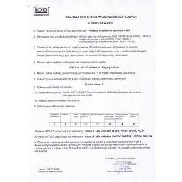 Wkładka bębenkowa 30/30 LOB ARES + 20 kluczy