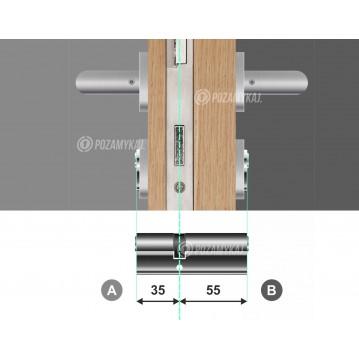 Wkładka bębenkowa 30/30 LOB ARES + 50 kluczy