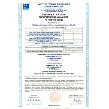 Wkładka bębenkowa 30/30 LOB ARES + 100 kluczy