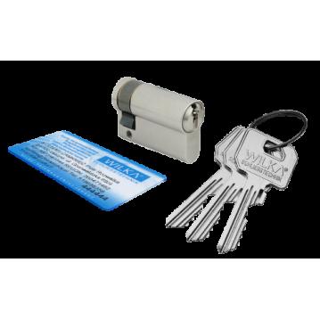 Wkładka bębenkowa 50/50 LOB ARES + 100 kluczy