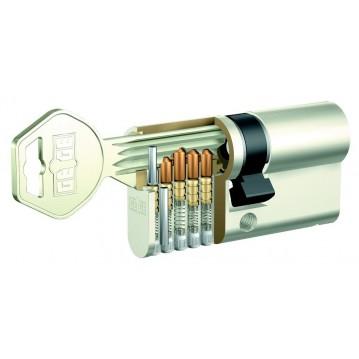 Wkładka bębenkowa 30/30 LOB ARES + 4 klucze