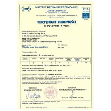 Wkładka bębenkowa 30/30 LOB ARES + 10 kluczy