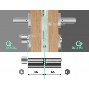 Wkładka bębenkowa 30/30 LOB ARES + 14 kluczy