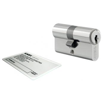 Wkładka bębenkowa 30/35 LOB ARES + 3 klucze