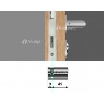 Maskownica do zamka Apartlock P1 na wkładkę szeroka