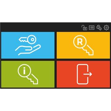 Wkładka bębenkowa z gałką LOB HEKTOR 40G/65 system jednego klucza