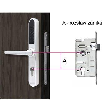 Wkładka bębenkowa z gałką LOB HEKTOR 50G/45 system jednego klucza